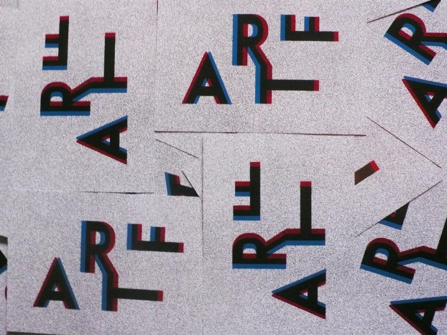 A.R.T.F, flyer A5 de l'exposition