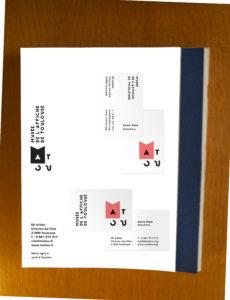 Carte et marque-page